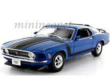 WELLY 18002 1970 70 FORD MUSTANG BOSS 302 1/18 DIECAST BLUE