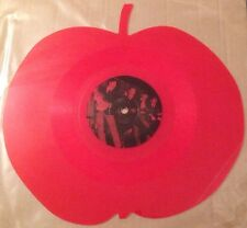 "The Beatles - Red 10"" Vinyl Apple Shaped Coloured Vinyl Very Rare Interview"