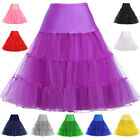 Rock and roll New 60s 50s 40s Retro Underskirt Petticoat Fancy Skirt Swing Dress