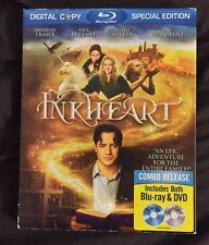 INKHEART BLU RAY + DVD WITH RARE OOP SLIPCOVER REGION FREE