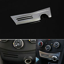 1x Decoration ABS Cigar Cigarette Lighter Panel Cover Trim Sticker For Trax 2013