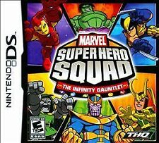 Marvel Super Hero Squad: The Infinity Gauntlet  (Nintendo DS, 2010) *New,Sealed*
