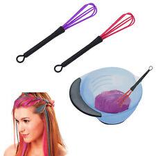 Salon Hairdressing Plastic Hair Tint Coloring Dye Whisk Mixer Stirrer Egg Beater