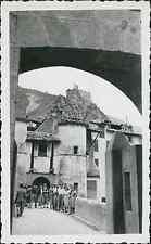 Entrevaux Vintage silver print Tirage argentique  6,5x10,5  1939   div s