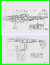DISEGNI DRAWINGS REGGIANE RE2005 SAGITTARIO REGIA AERONAUTICA AIRCRAFT - DVD