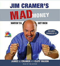 New 6 CD Jim Cramer's Mad Money Watch TV, Get Rich