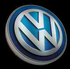 VW LED de grandes 2 pi illuminé garage mur lumière SIGNE photo Veedub GTI R32 Mk1