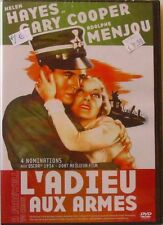 DVD L'ADIEU AUX ARMES - Gary COOPER / Helen HAYES / Adolphe MENJOU - Neuf