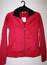 Puma Poly Fleece Jacket Size M Cerise