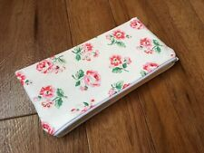 Fabric Pencil / Make Up / Glasses Case Made With Cath Kidston White Ashdown Rose