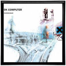 Radiohead OK Computer Framed 12' LP Artwork inc. Vinyl Record