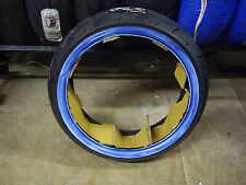 """VEE RUBBER 130/70-18 VRM302 WHITE WALL FRONT/REAR TIRE FOR 18"""" X 3.50"""" WHEEL"""