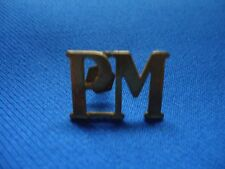 PORTUGAL PORTUGUESE MILITARY ARMY PM MILITARY POLICE VINTAGE BADGE 24mm