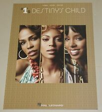 Destiny's Child #1's Piano Vocal Guitar Songbook Notenbuch NEU