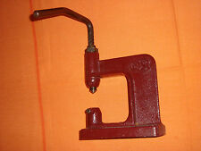 """Vintage leather machine punch press tool marked """"2S""""  - PR4"""
