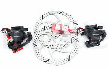 TRP HY RD DISC HYDRAULIC CABLE BRAKE CALIPER W/ 160MM ROTOR FRONT + REAR BLACK