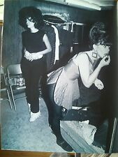 B-52's Pierson & Wilson Dressing Room New York 1980 Full Page 29 x 22cm approx