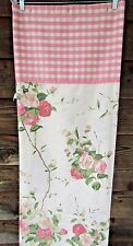 Excell Home Fashions Country Cottage Chic Floral Fabric Shower Curtain