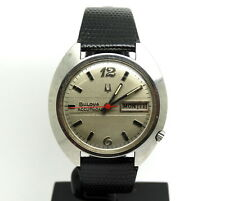 Vintage Mens USA BULOVA ACCUTRON 2182 mov't 8-3 3350 N3 Stainless Steel Watch