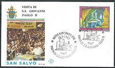1983 VATICANO VIAGGI DEL PAPA SAN SALVO - SV
