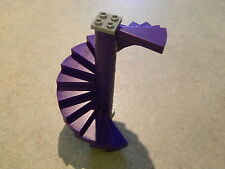 LEGO STAIRS PURPLE (x16 steps) spiral round castle harry potter hobbit lotr