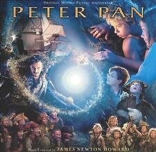 Peter Pan [Original Motion Picture Soundtrack] by James Newton Howard (CD,...