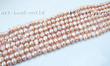 variations baroque genuine Natural freshwater pearl loose bead necklace