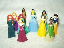 11 x Disney Cake Toppers Mini Figures Disney Princess 2 inch