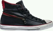 Converse John Varvatos Chuck Taylor Zip AS HI 145379C $150 Zipper Leather Sz 8.5