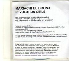 (DT617) Mariachi El Bronx, Revolution Girls - 2011 DJ CD