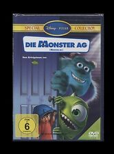 DVD WALT DISNEY - DIE MONSTER AG - SPECIAL COLLECTION - PIXAR ANIMATIONSFILM NEU