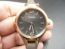 NEW OLD STOCK FOSSIL 32MM QUARTZ LADY WOMEN WATCH