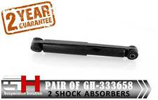 2 NEW REAR GAS SHOCK ABSORBERS VAUXHALL ASTRA II G CLASSIC ESTATE //GH-333658//