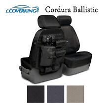 Coverking Custom Tactical Seat Covers Ballistic Canvas Front Row - 3 Colors