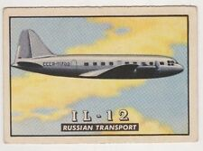 1952 Topps Wings #42 - IL-12, Excellent Condition.