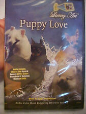 """Living Art """"Puppy Love"""" (DVD, 2007) Audio / Video Mood Enhancing DVD for your TV"""