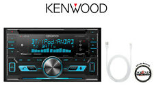 Kenwood DPX592BT Double Din CD Receiver w/ Bluetooth & USB to lightening Adapter
