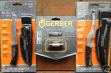 "Gerber Metolius 3.5"" Caper, E-Z Open Fixed Blade Hunting knife & Myth Headlamp"