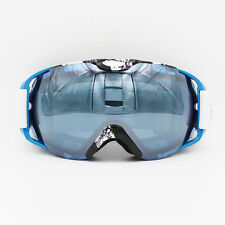 Frameless Professional Snowboard Snowmobile Ski Goggles Anti Fog UV Double Lens