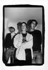 NIRVANA POSTER PAGE DALMACIA HOTEL LONDON 24 OCTOBER 1990 . KURT COBAIN a
