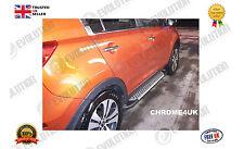 KIA Sportage Lado pasos Plata Aluminio 2010-2013 en adelante