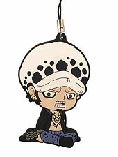 One Piece Mascot Swing PVC Keychain New World Dressrose Trafalgar Law @OP00001