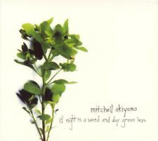 Mitchell AKIYAMA : If Night is a Weed and Day Grows Less [CD, Sub Rosa] VG
