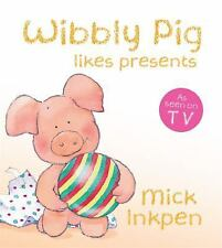 Wibbly Pig Likes His Presents-ExLibrary