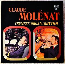 Claude Molenat Trumpet Organ Rhythm LP NM Vinyl Jazz Classical Baroque Fusion