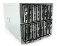 16 x Dell PowerEdge M620 blade Servers in M1000e 32 x 8-Core E5-2670 1024Gb Ram