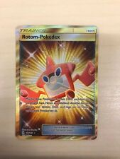 Pokemon Rotom-Pokedex SECRET RARE - FULL ART Sonne und Mond 159/149, deutsch!