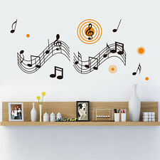 Music Wall Sticker Removable Home Decor Wall Art Decoration  Vinyl Mural Decal
