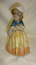 Attractive Retired Lladro Spain Figure 2093 Girl With Crossed Arms