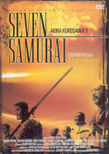 The Seven Samurai,1954 (DVD,All,Sealed,New,Keep Case) Kurosawa Akira